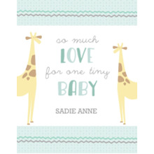 Baby + Kids 11x14 Poster(s), Board, Home Decor -Menagerie