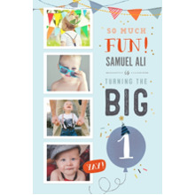 Baby + Kids 20x30 Poster, Home Decor -So Much Fun Turning One