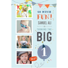 Baby + Kids 24x36 Poster , Home Decor -So Much Fun Turning One