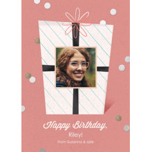 Birthday Greeting Cards 5x7 Folded Cards, Standard Cardstock 85lb, Card & Stationery -Birthday Cheer