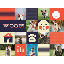 Pets Plush Fleece Blanket, 60x80, Gift -Doggy Dearest