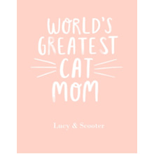Non-Photo 11x14 Poster, Home Decor -Worlds Greatest Cat