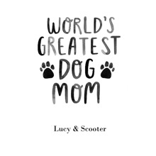 Non-Photo 16x20 Poster(s), Board, Home Decor -Worlds Greatest Dog