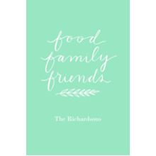 Non-Photo 20x30 Poster, Home Decor -Food Family Friends