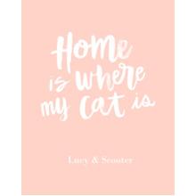 Non-Photo 11x14 Poster, Home Decor -Home Cat