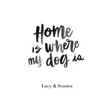 Non-Photo 24x36 Poster , Home Decor -Home Dog