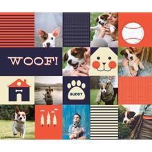 Pets Plush Fleece Photo Blanket, 50x60, Gift -Doggy Dearest