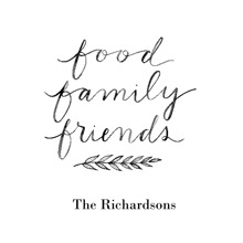 Non-Photo 16x20 Poster(s), Board, Home Decor -Food Family Friends