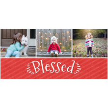Religious 11 oz. Red Mug, Gift -Blessed