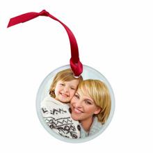 Round Glass Ornament, Gift