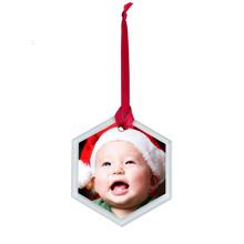 Beveled Glass Ornament , Gift