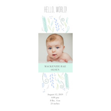 Baby + Kids Bookmarks, Card & Stationery -Whimsy Hello World