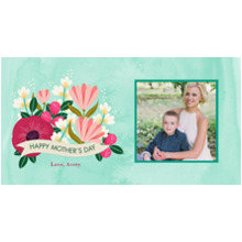 Mother's Day Travel Tumbler, Gift -Mothers Day Garden