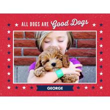 Pets Fleece Blanket, 60x80, Gift -Patriotic Pet
