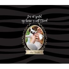 Pet Framed Canvas Print, Black, 8x10, Home Decor -Prosperous Pet
