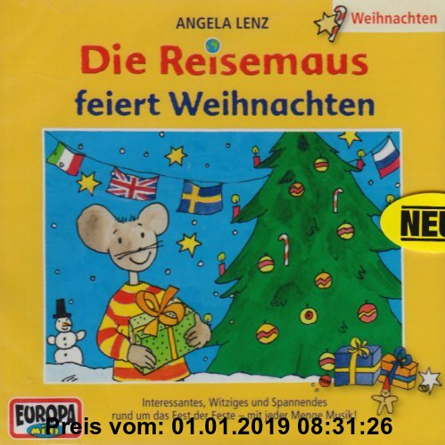 Gebr. - Die Reisemaus - CD / Reisemaus Weihnachtsfolge: Weihnachten mit der Reisemaus