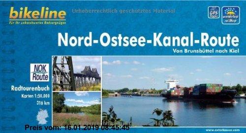 Gebr. - Nord-Ostsee-Kanal-Route, wetterfest/reißfest