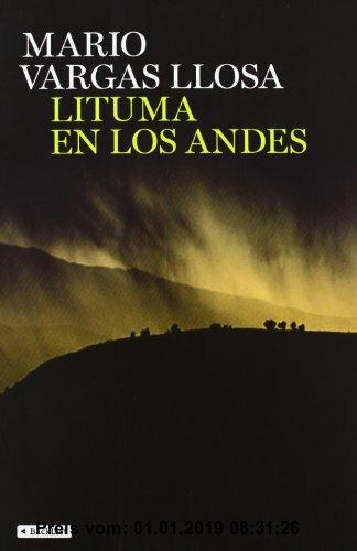 Gebr. - Lituma en los Andes (BackList Contemporáneos Ficción)