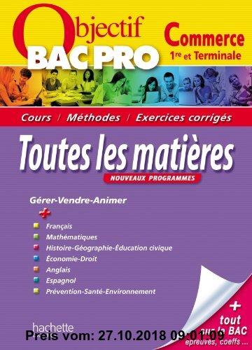 Gebr. - Toutes les matières 1e et Tle Bac pro Commerce