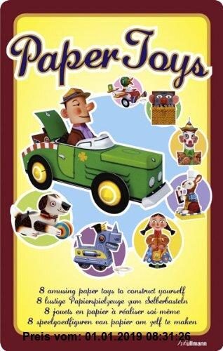 Gebr. - Paper Toys. 8 lustige Papierspielzeuge zum Selberbasteln.