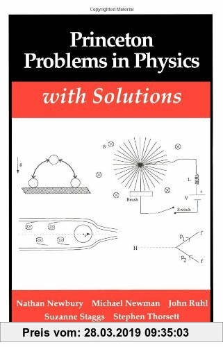 Gebr. - Princeton Problems in Physics with Solutions (Princeton Paperbacks)
