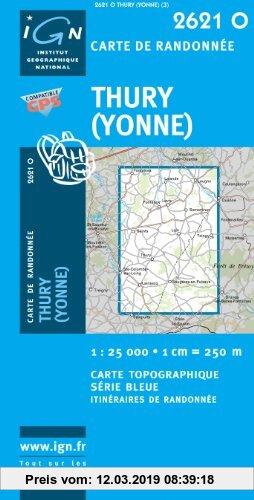 Gebr. - Thury (Yonne) 1 : 25 000