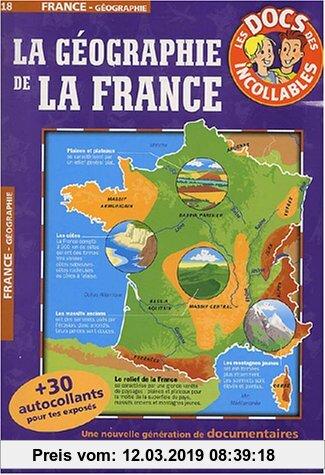 Gebr. - La géographie de la France (Les Docs Incollables)