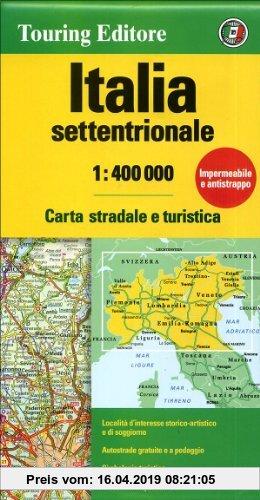 Gebr. - Italia settentrionale 1:400.000 (Touring Club Italiano Road Maps)