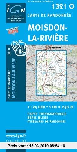 Gebr. - Moisdon-la-Riviere 1 : 25 000: Ign1321o