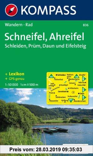Gebr. - Schneifel - Ahreifel 1 : 50 000: Schleiden - Prüm - Daun. Wander- und Bikekarte. GPS-genau
