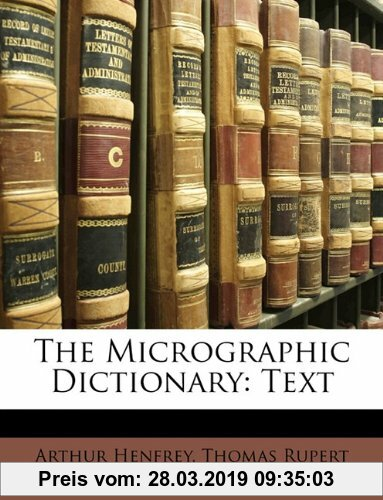 Gebr. - The Micrographic Dictionary: Text
