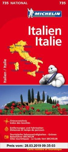 Gebr. - Italien (Michelin Nationalkarte)