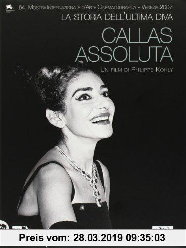 Gebr. - Callas assoluta, La storia dell'ultima diva, DVD (Italienisch) DVD-ROM