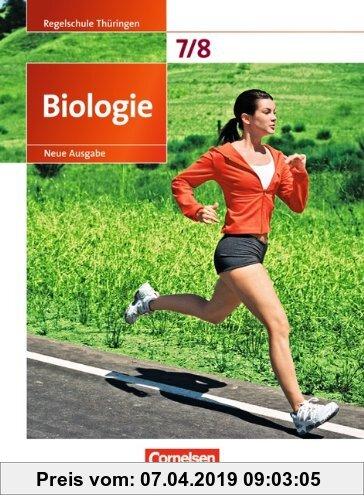 Biologie - Ausgabe Volk und Wissen - Regelschule Thüringen - Neue Ausgabe - 7./8. Schuljahr