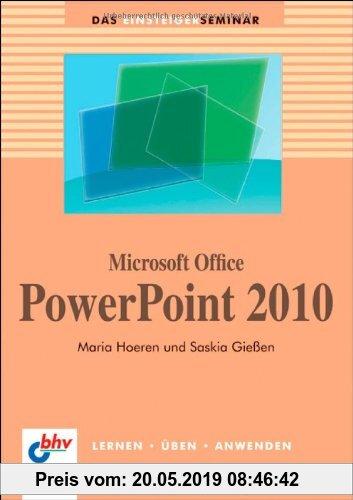 Gebr. - Microsoft Office PowerPoint  2010 (bhv Einsteigerseminar)