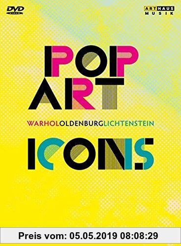 Gebr. - Pop Art Icons: Warhol, Oldenburg, Lichtenstein, 3 DVD
