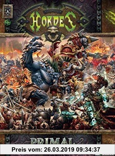 Gebr. - Hordes Primal Mk II Softcover: Vollblut Fantasy Miniaturenspiel