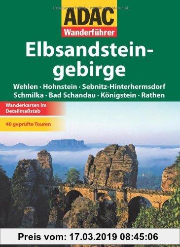 Gebr. - ADAC Wanderführer Elbsandsteingebirge