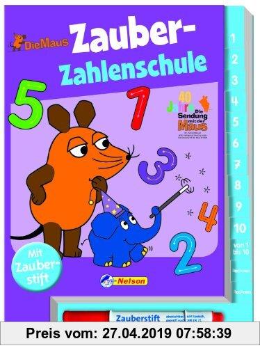 Gebr. - Die Maus, Zauber-Zahlenschule: mit Zauberstift