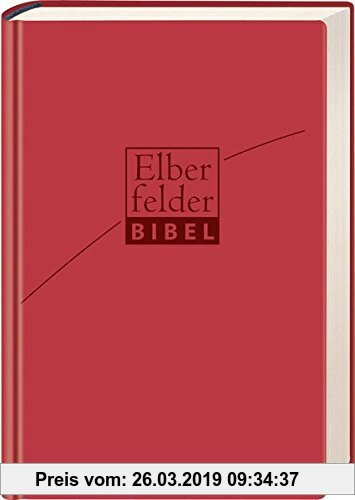 Gebr. - Elberfelder Bibel - Senfkornausgabe, ital. Kunstleder rosso