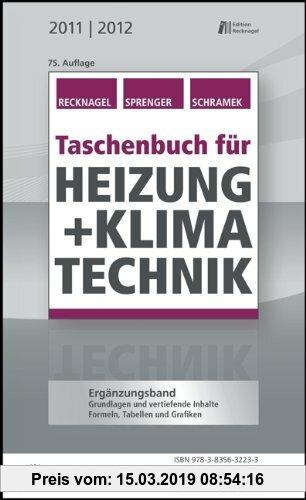 Gebr. - Taschenbuch für Heizung + Klimatechnik 11/12: Ergänzungsband