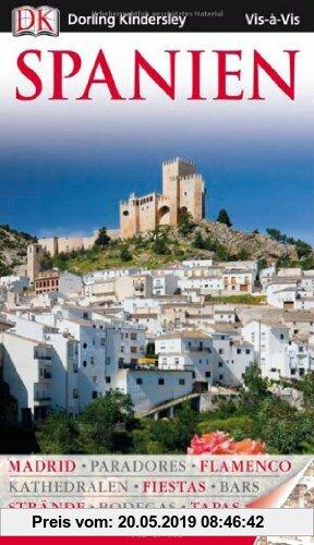 Gebr. - Vis a Vis Reiseführer Spanien mit Extra-Karte