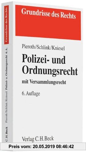 Gebr. - Polizei- und Ordnungsrecht: mit Versammlungsrecht, Rechtsstand: voraussichtlich Juni 2010