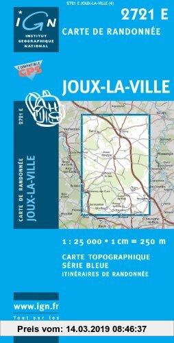 Gebr. - Joux-la-Ville 1 : 25 000