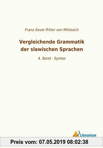 Vergleichende Grammatik der slawischen Sprachen