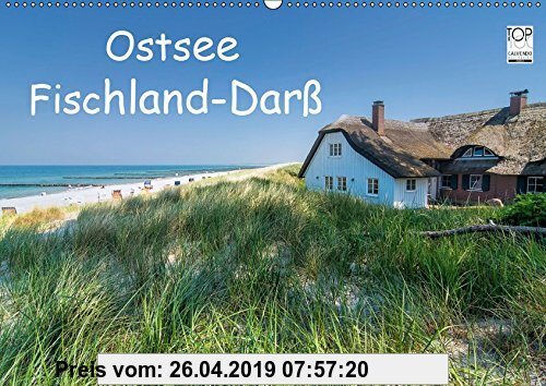 Gebr. - Ostsee, Fischland-Darß (Wandkalender 2019 DIN A2 quer): Bilder von Deutschlands schönster Halbinsel in der Ostsee. (Monatskalender, 14 Seiten