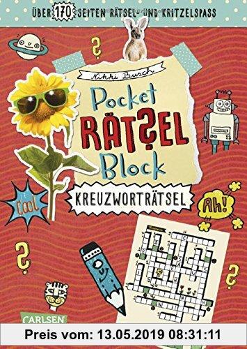 Gebr. - Kreuzworträtsel: 100% Rätselspaß für deine Tasche (Pocket-Rätsel-Block)