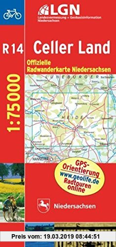 Gebr. - Topographische Sonderkarten Niedersachsen. Sonderblattschnitte auf der Grundlage der amtlichen topographischen Karten, meistens grösseres ...