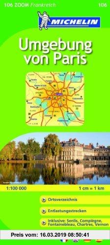 Gebr. - MICHELIN Zoomkarte Paris und Umgebung