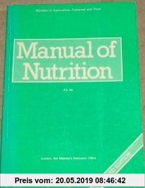 Gebr. - Manual of Nutrition